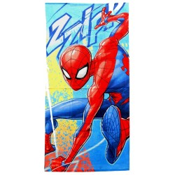 Marvel Spiderman Zzipp Kids Beach Towel 70x140cm