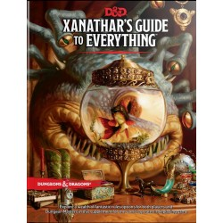 Dungeons & Dragons RPG - Xanathar's Guide to Everything BOOK D&D Xanathar's Guide 966110 D&D Dungeons & Dragons 595,00 kr
