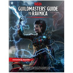 Dungeons & Dragons RPG - Guildmasters' Guide to Ravnica Book BOOK D&D 966592 Guildmasters Gu D&D Dungeons & Dragons 599,00 kr