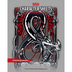 Dungeons & Dragons RPG - Character Sheets - 5th. Edition D&D Character Sheets D&D Dungeons & Dragons 149,00 kr