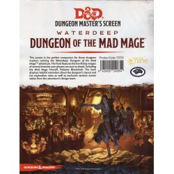 D&D Dungeon Master's Screen Waterdeep Dungeon of the Mad Mage