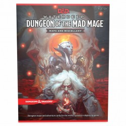 Dungeons & Dragons - Dungeon of the Mad Mage Maps and Miscellany D&D MAPS Mad Mage 966653 D&D Dungeons & Dragons 399,00 kr