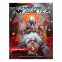 Dungeons & Dragons RPG - Dungeon of the Mad Mage Book Rollspel BOOK D&D Dungeon Mad Mage 96626 D&D Dungeons & Dragons 629,00 kr