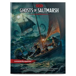 Dungeons & Dragons RPG - Ghosts of Saltmarsh Book
