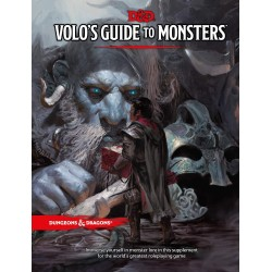 Dungeons & Dragons RPG - Volos Guide To Monsters Book D&D BOOK Volos Guide To Monsters D&D Dungeons & Dragons 629,00 kr