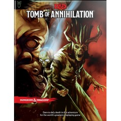 Dungeons & Dragons RPG - Tomb of Annihilation Book D&D BOOK Tomb Annihilation 96610 D&D Dungeons & Dragons 629,00 kr