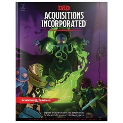 Dungeons & Dragons RPG - Acquisitions Incorporated Book D&D BOOK Acquisitions Inc.966905 D&D Dungeons & Dragons 629,00 kr