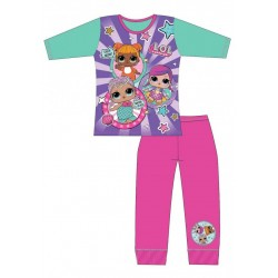 L.O.L Surprise Stripes LOL Pyjama Set Long