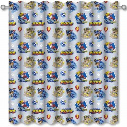 Paw Patrol Super Ready Made Curtains 168cm x 183cm