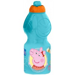 Peppa Pig Plastic Bottle Light Blue
