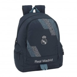 Real Madrid School Bag Backpack 43x32x17cm