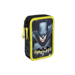 Batman Trippel Skolset Fyllt Pennfodral 43-delars Batman Svart/Gul 43 DELAR DC Comics 349,00 kr product_reduction_percent