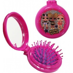 L.O.L. Surprise! LOL Character Pop Up Pocket Hair Brush And Mirror