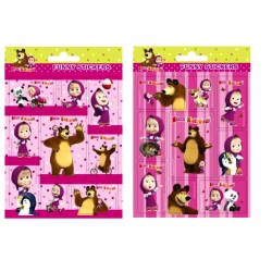 Masha And The Bear Fun Stickers Pack 3-Pack