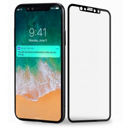 Fuldhærdet hærdet glas iPhone 11 Pro / X / Xs Screen Protector Retail