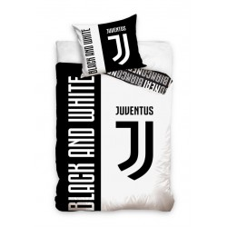 Juventus Black And White Duvet Bedding 160x200+70x90cm