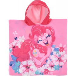 My Little Pony Pinkie Pie Kids Double Sided Hooded Towel Poncho 100*50cm