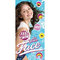 Soy Luna Feel the Wind Handduk Badlakan 140*70cm Blå Soy Luna Towel QE4388 Disney Soy Luna 199,00 kr product_reduction_percent