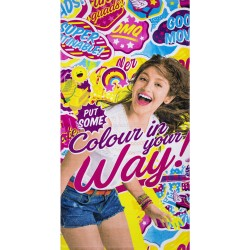 Soy Luna Super Patinable Pyyhe Rantapyyhe 140x70cm