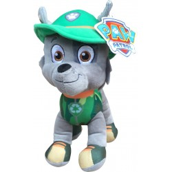 Paw Patrol Jungle Rescue S3 Rocky Toy Plys Blød plys 27cm