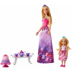 Barbie Dreamtopia Barbie And Chelsea Dolls And Accessories 30cm