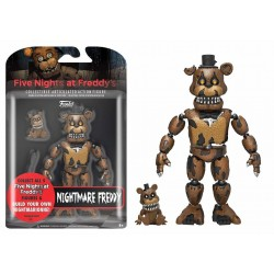 Funko Action Figure Five Nights at Freddy's Nightmare Freddy Exclusive FNAF