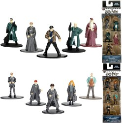 10pcs Harry Potter Nano Metalfigs Collectible Die-Cast Figures W1 Pack A & B
