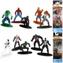 10pcs Spider-Man Nano Metalfigs Collectible Die-Cast Figures W1 Pack A & B