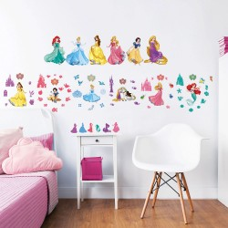 Disney Princess 53pcs Wall Stickers For Kids Bedrooms