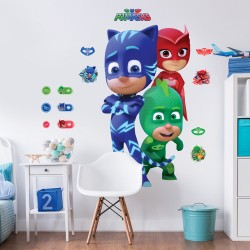 PJ Masks Large Character Wall Sticker