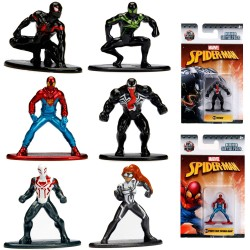 6. Spider-Man Spider Man Nano Metal Figures Collector Wave 2