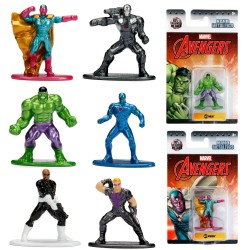 6pcs Marvel Avengers Nano Metalfigs Collectible Die-Cast Figures Wave 2