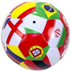 Ball With Flags Football Soccer Worldcup Sports Ball Size 5