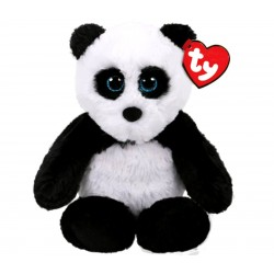 TY Attic Treasures Fluff The Panda Plush Toy 20cm