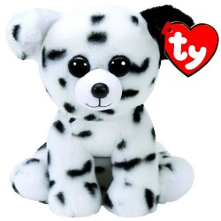 TY Classic Spencer Dalmatian Dog With Glitter Eyes Plush Toy 24cm