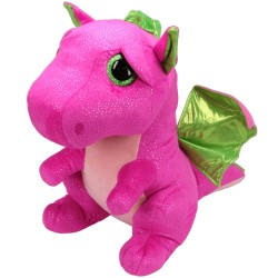 TY Beany Boos Darla Pink Dragon Large Plush Toy Pehmo 42cm