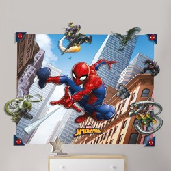 Spider-Man 3D Pop Out Wall Decoration Sticker 121cm x 152cm