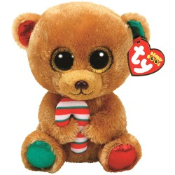 TY Beany Boos Bella The Christmas Bear Large Plush Toy 42cm