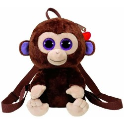TY Gear Coconut Monkey Backpack Plush Backpack Bag 25cm