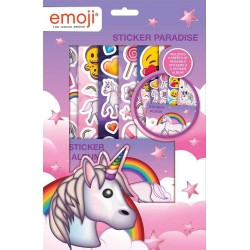 Emoji Unicorn Sticker Paradise Set Children Tarroja