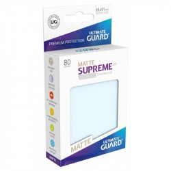 Ultimate Guard Supreme UX Matte Sleeves Standard Size 80-Pack