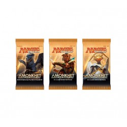 Magic The Gathering Amonkhet Booster 3-Pack. Kort