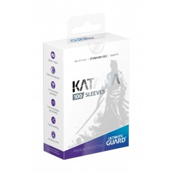 Ultimate Guard Katana Sleeves Standard Size Transparent 100-Pack