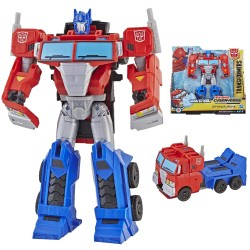 Transformers Cyberverse Action Attackers Ultra Class Optimus Prime Action Figure Toy E3639 Ultra Class Optimus Prime Transfo...