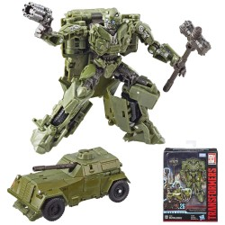 Transformers Studio Series 26 Deluxe The Last Knight WWII Bumblebee Action Figur
