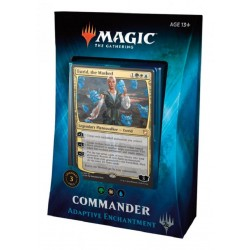 Magic The Gathering Commander Deck 2018 Adaptive Enchantment MTG BLÅ Commander 63224 Magic The Gathering 459,00 kr