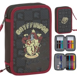 Harry Potter Gryffindor 28-Piece Double Penaaleita School Pencil Case