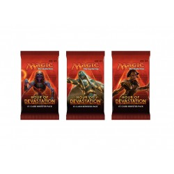 Magic The Gathering Hour Of Devastation Booster 3-Pack. Kort