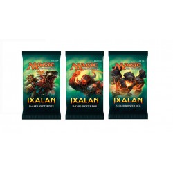 Magic The Gathering Ixalan Booster 3-Pack. Card Game