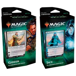 2-PACK Magic The Gathering - War of the Spark Planeswalker Deck Combo